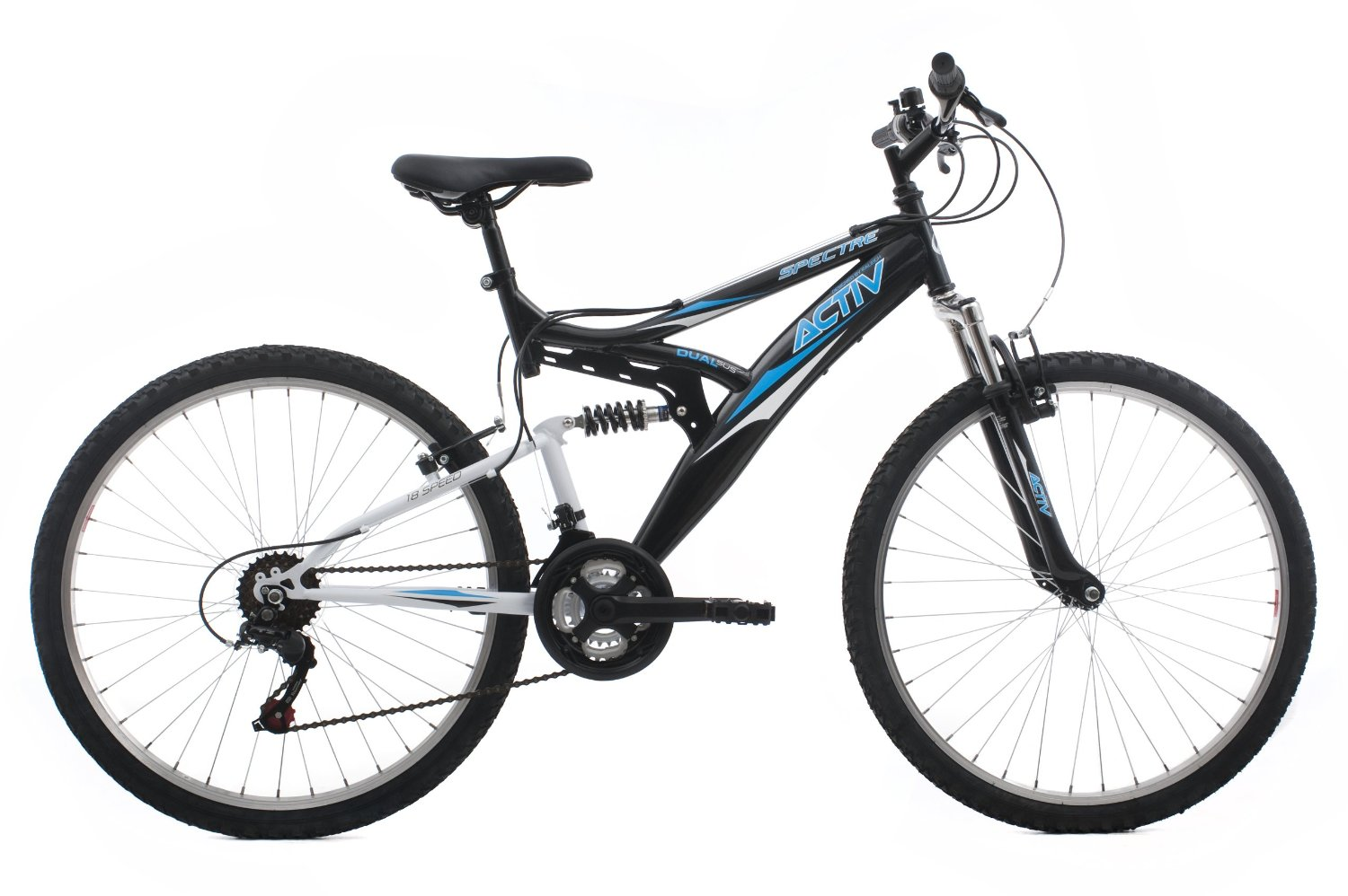 Activ By Raleigh Spectre Men S Dual Suspension Mountain Bike Review