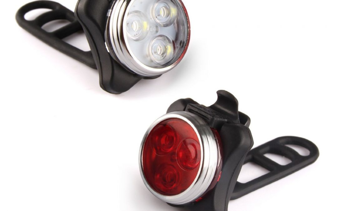 Ascher Rechargeable LED Bike Lights Set Review