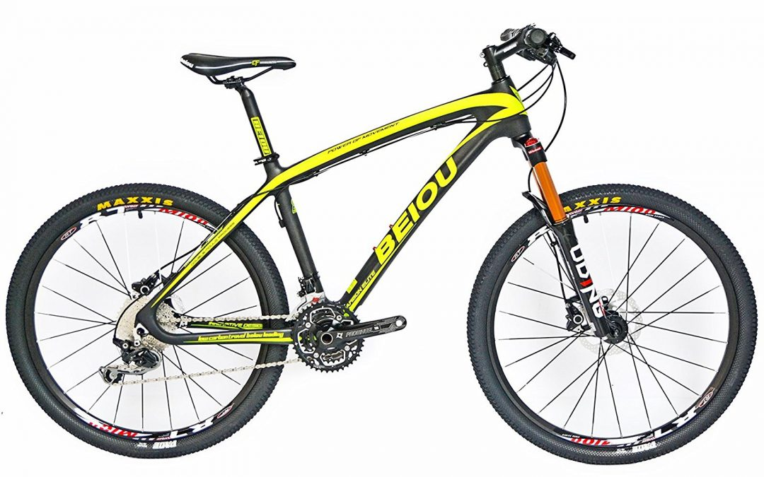 BEIOU® Hardtail Mountain Bike  T800 Carbon Fiber Review