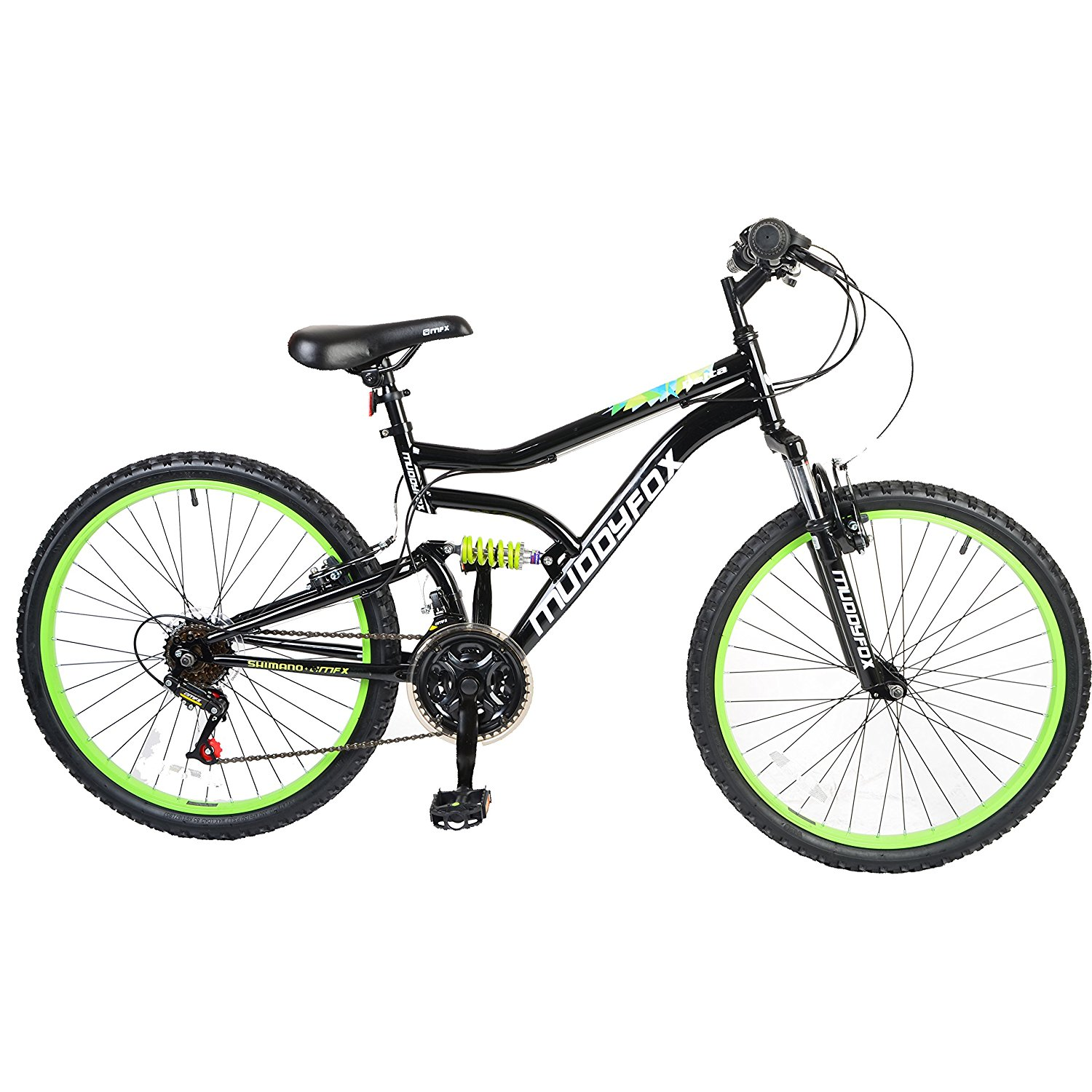Muddyfox Delta 24 Boys Dual Suspension Bike Review Road
