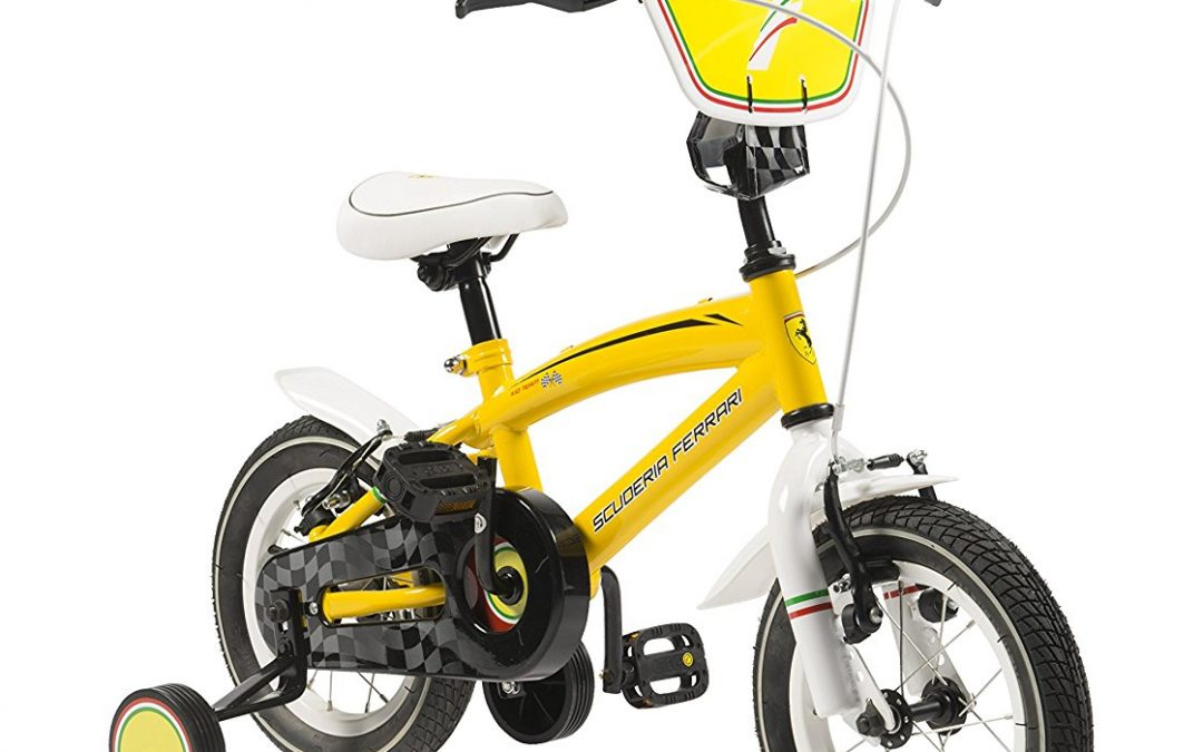 Scuderia Ferrari Bicycle Kid Team 12 Yellow Review