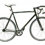 Viking men's road single speed fixed bike