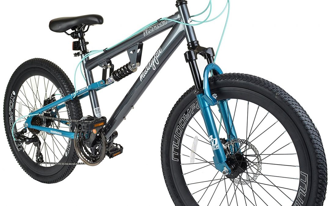 Muddyfox Nebraska 24 girls/ children's dual suspension bike Review