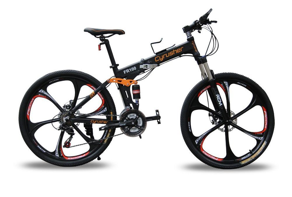 Cyrusher® FR100 Hardtail Dual Suspension Men's Mountain Bike Review