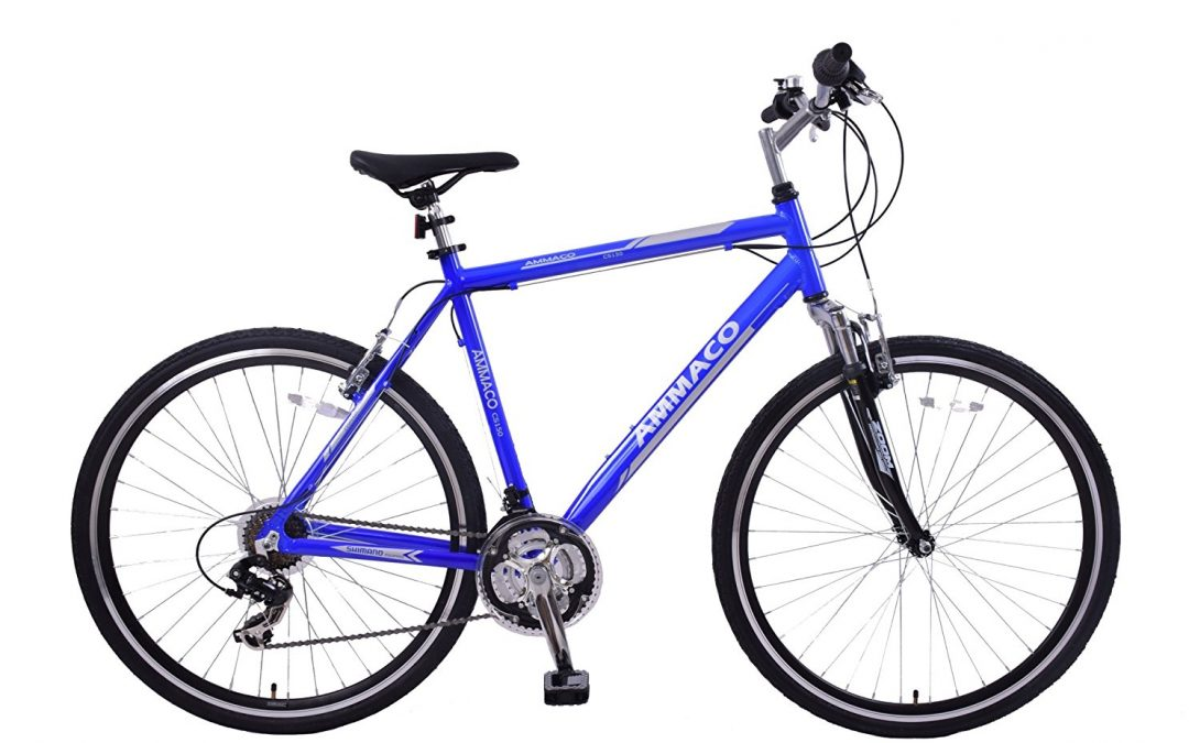 Amacco CS150 men's hybrid blue bike Review