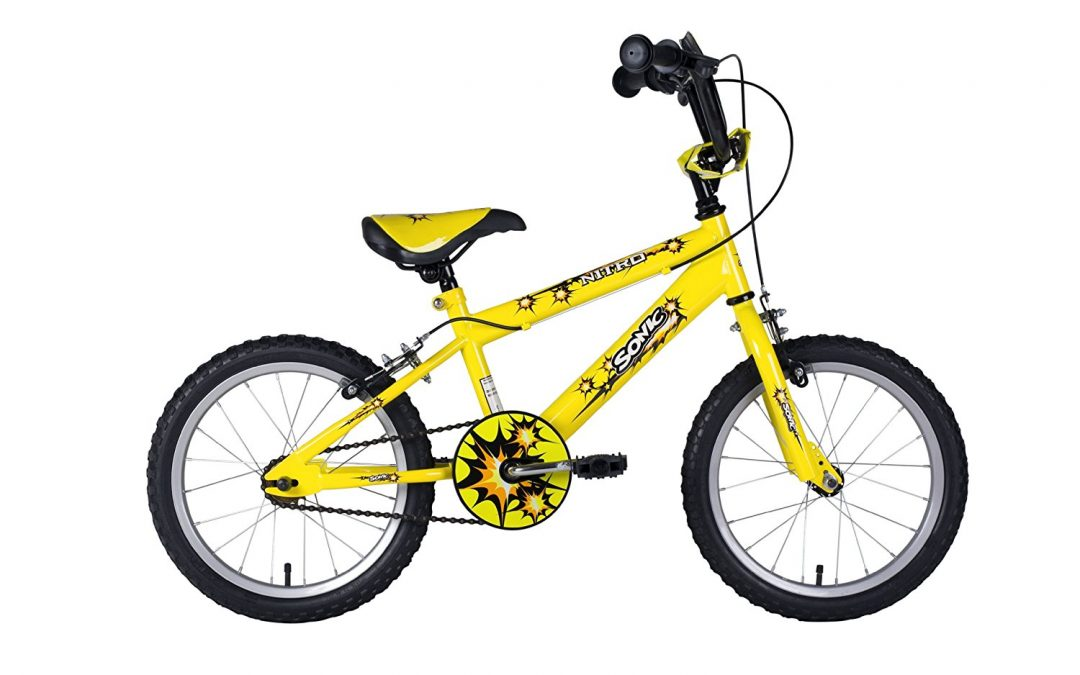 Sonic Nitro Junior Boys BMX bike Review