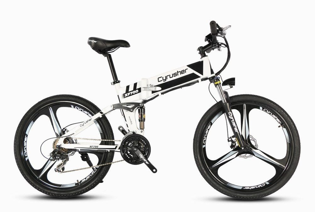 Cyrusher XF700 Mans 17 x 26 Inch Folding Electric Bike Review