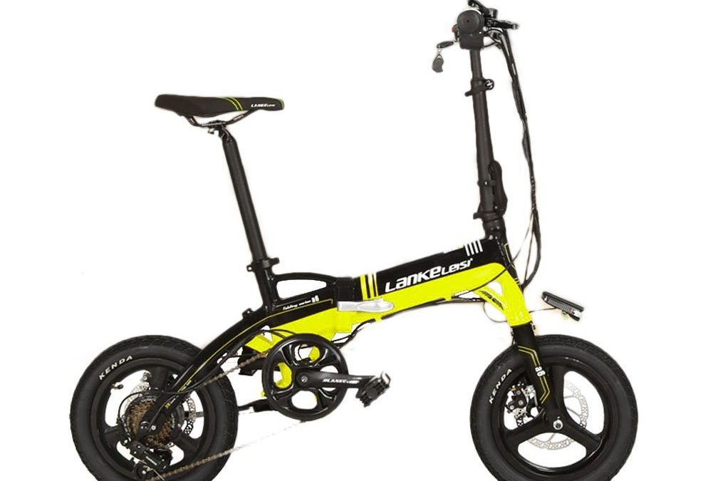 Extrbici A6 Folding Mini Electric Bicycle Review