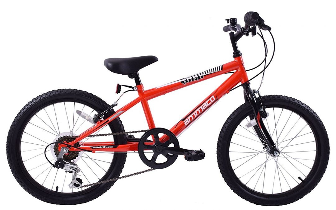 Ammaco Gladiator 20-inch Boys Mountain Bike