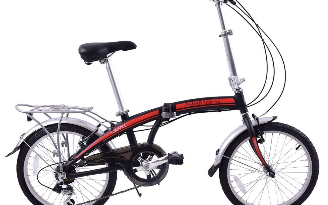 Ammaco Pakka Lite Folding Bike Review