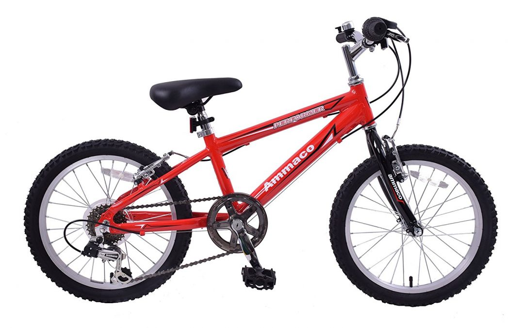 Ammaco Performer Boys 20-inch Wheel Mountain Bike
