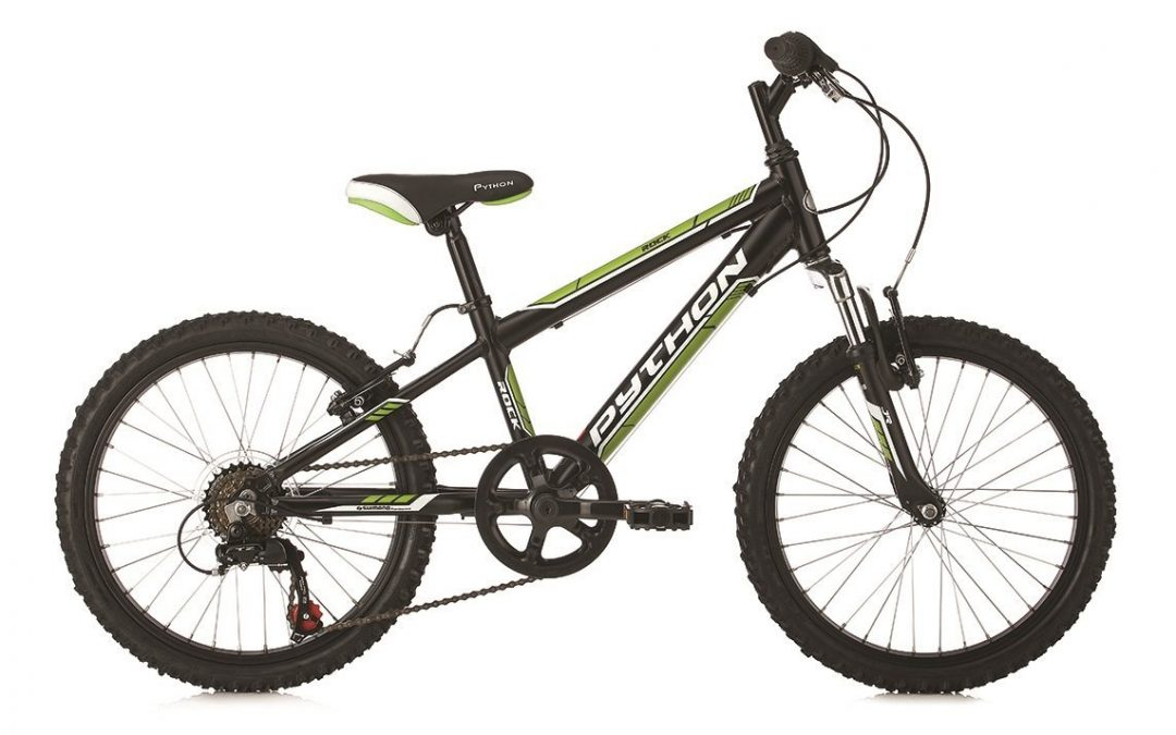 "20″ Python ""Rock"" Front Suspension Mountain Bike Review"