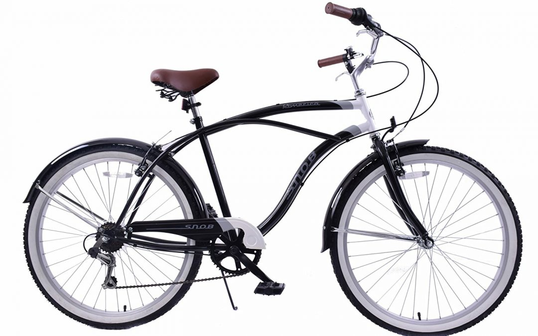 Ammaco snob 22′ frame beach cruiser bike Review