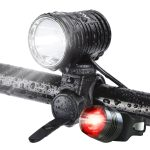 Auo pro usb rechargable bike light set