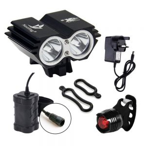 CDC 5000 Lumen 2 x Cree XML Bicycle light