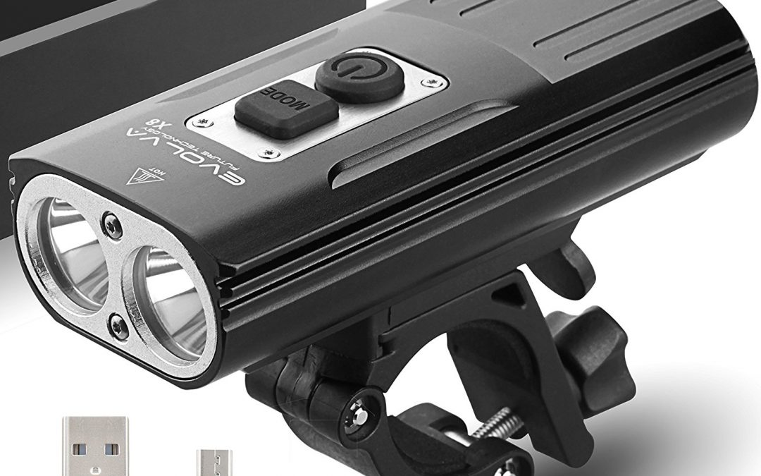 Evolva Future Technology Rechargeable X8 Bike Light Review