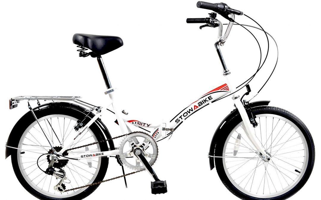 Stowabike 20'' Folding City V2 Compact Foldable Bike Review