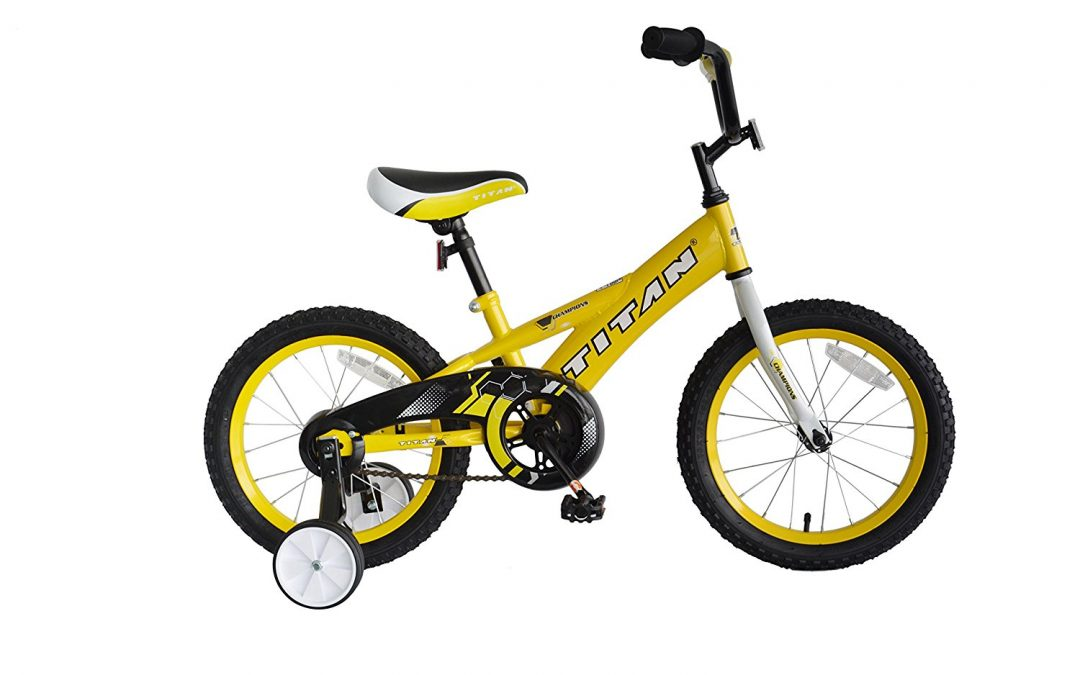 Titan 16-Inch Boy's Champion BMX Bike Review