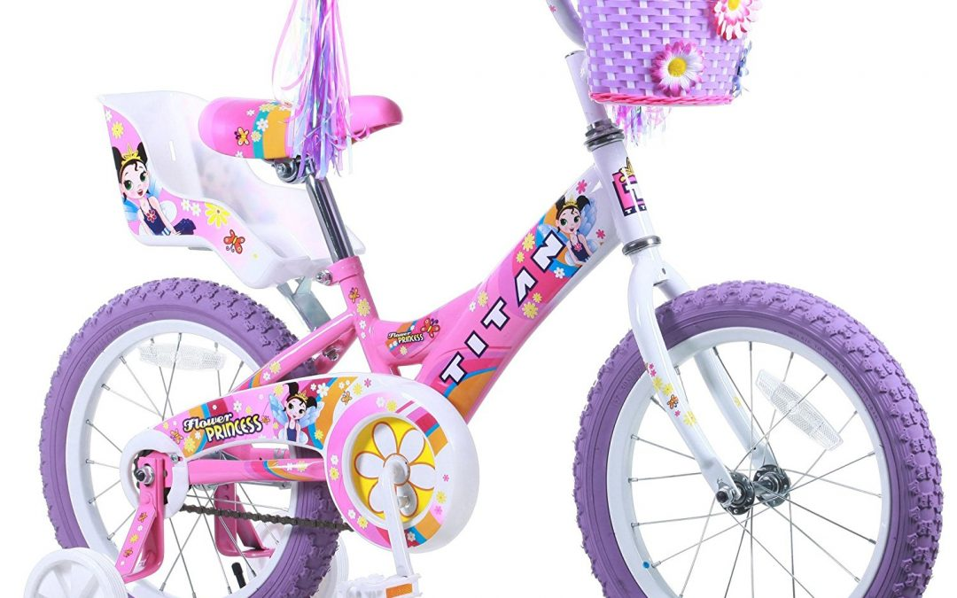 Titan 16-Inch Girl's Flower Princess BMX Review