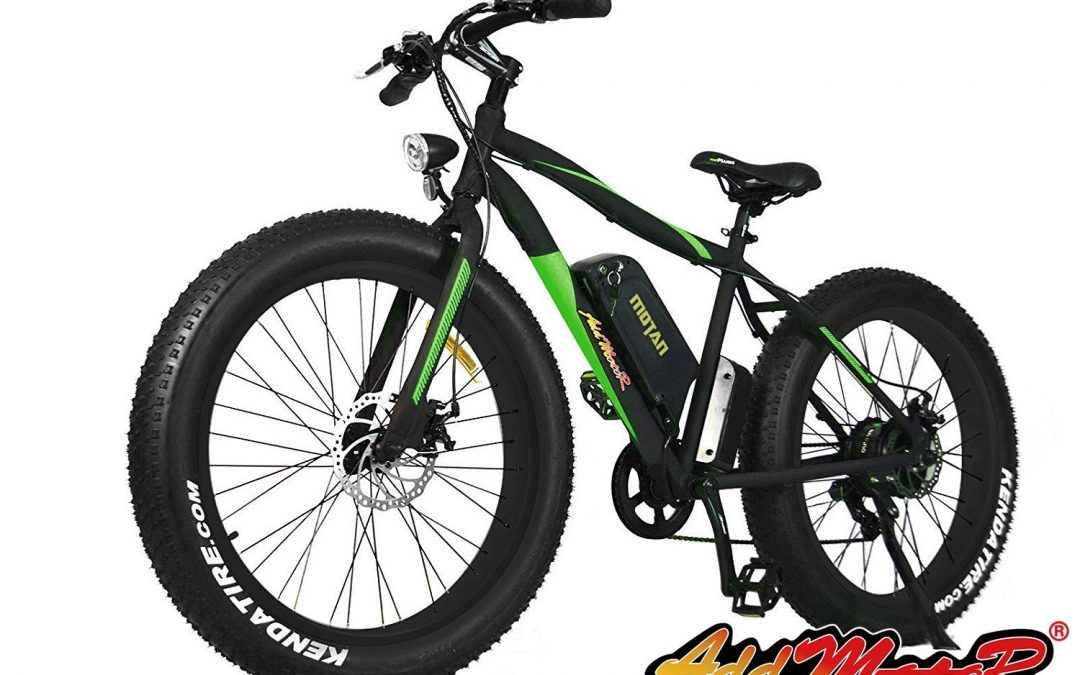 Addmotor MOTAN Electric Snow Beach Mountain Bike Review