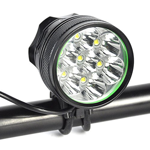 Bybo 10000LM 7 X Cree MTB Mountain Bike Head Light Review