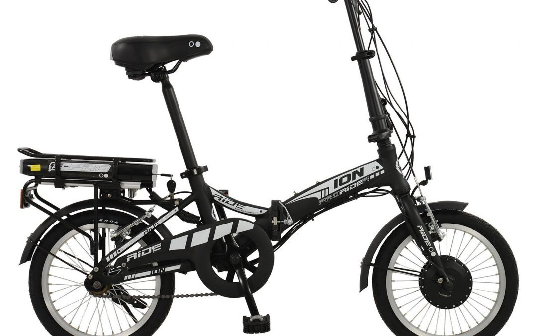 Ion 16-wheel Mens or Womens Unisex Alloy Folding Electric Bike Review