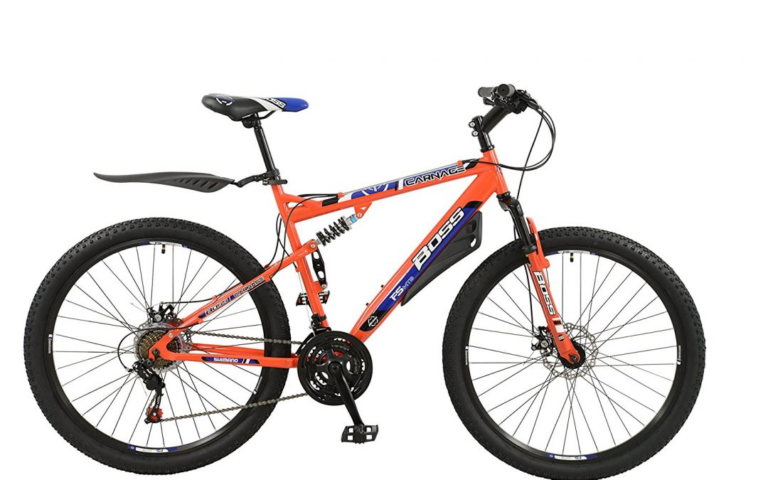 Men's Boss Carnage Dual Suspension 27.5″ 650b Mountain Bike Review