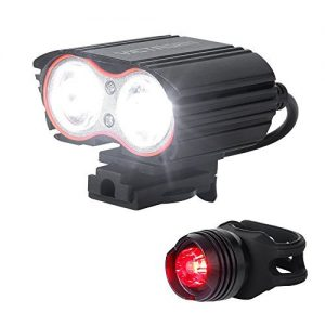 Victagens Waterproof USB Rechargeable Bike Light