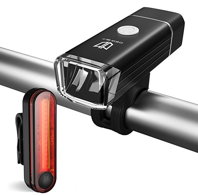 Degbit USB Rechargeable Bike Light Set Review