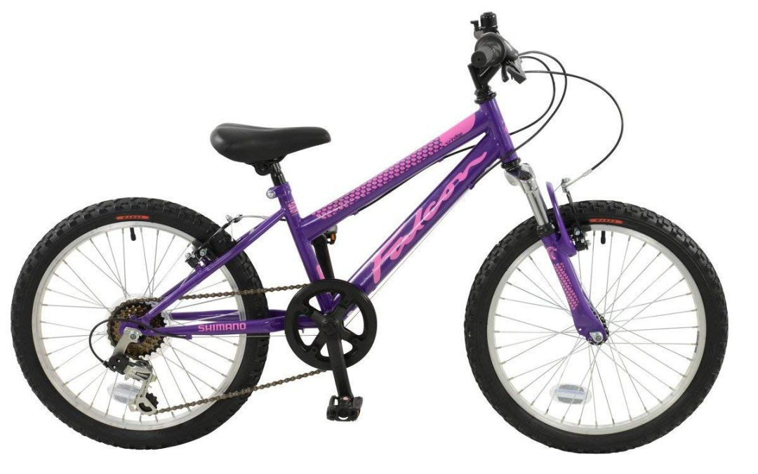 "Falcon Violet Girls 20"" Girl's Mountain Bike"