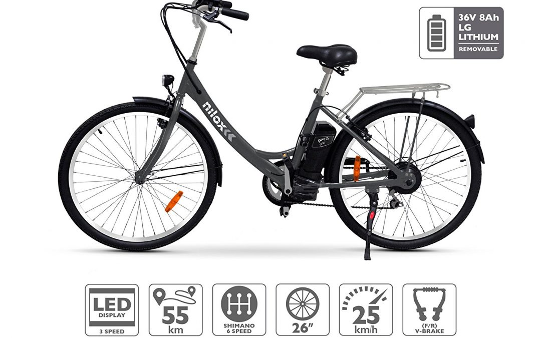 Nilox E Bike X5, Electric City Bike Review