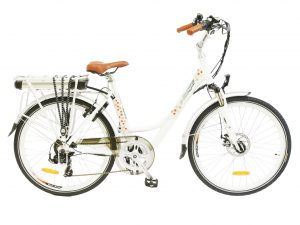 e ranger cruiser floral elecrtric bike