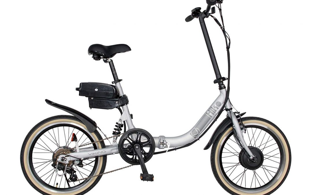 "The Viking Hiko alloy 16"" Folding E Bike Review"