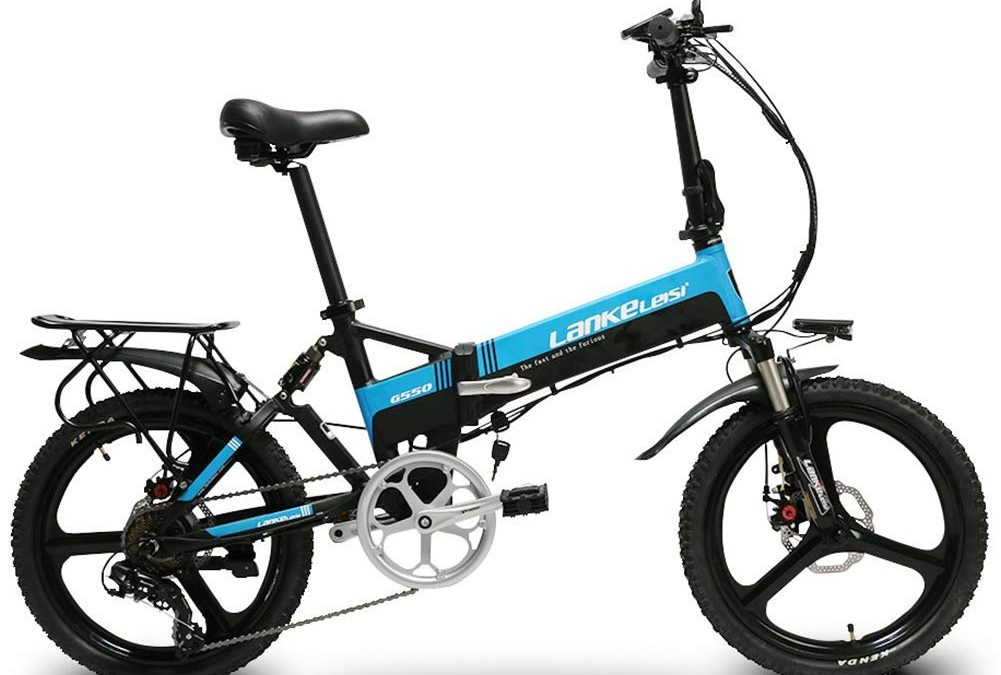 Cyrusher G550 Men's Electric Folding Bike Review