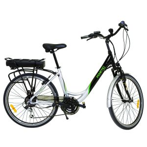 Fenetic Fusion Deluxe Step Through E Bike