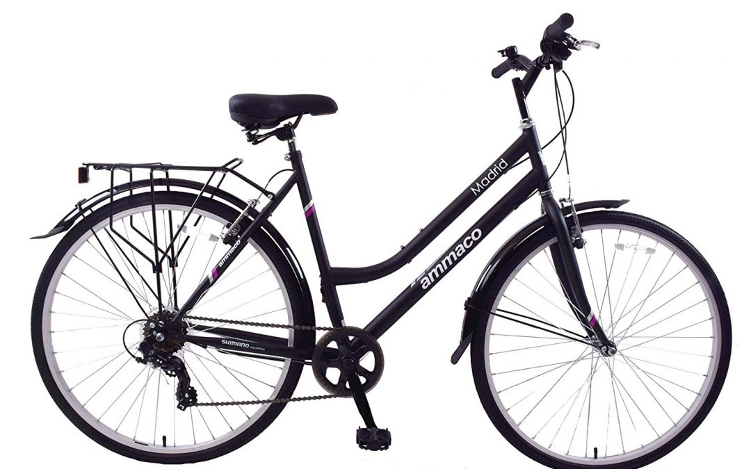 Ammaco Madrid 700c Womens Hybrid City 7 Speed Bike Review