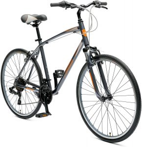 Critical Cycles Mens Barron Hybrid Bike