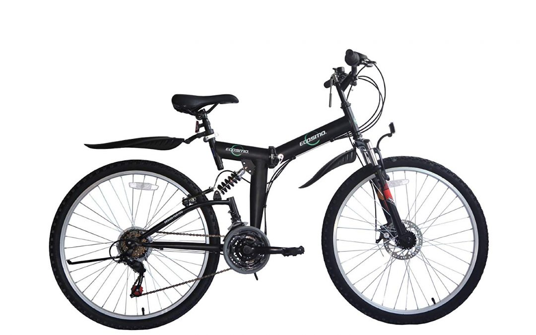 "Ecosmo 26"" Folding Mountain Bicycle Bike Review"