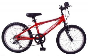 Ammaco Python Wheel Boys Kids Mountain Bike