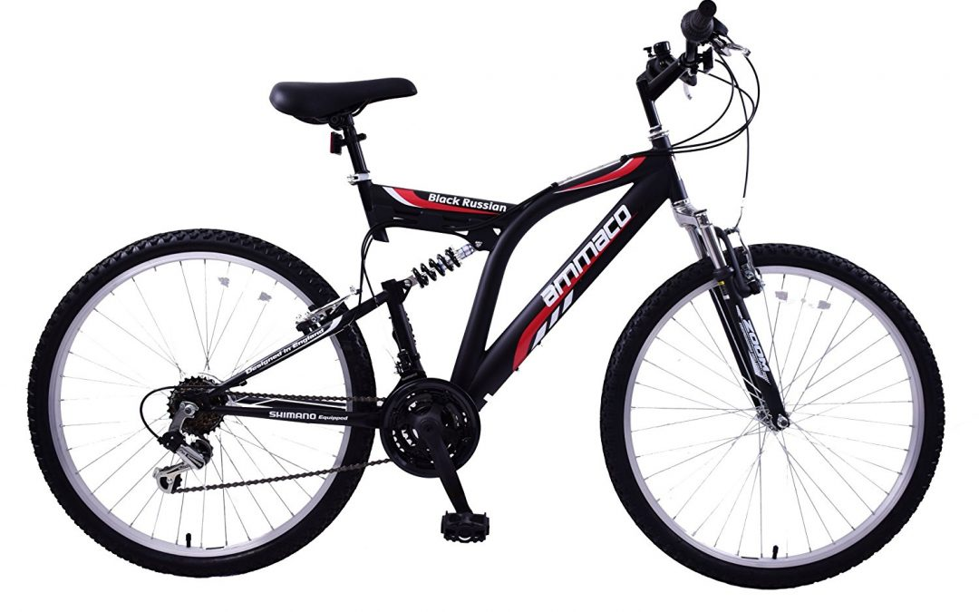 Ammaco Black Russian Mens Mountain Bike Review