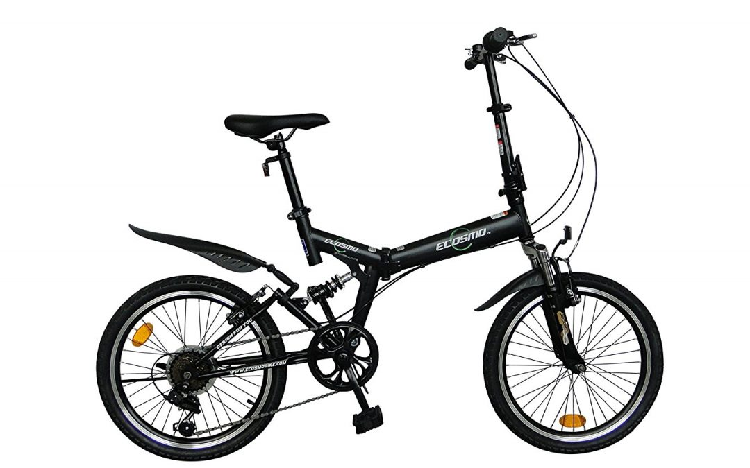 ECOSMO 20″ Folding Mountain Bicycle Review