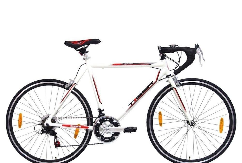 Tiger Olympus Gents 700c Alloy Frame Road Racing Bike Cycle Review