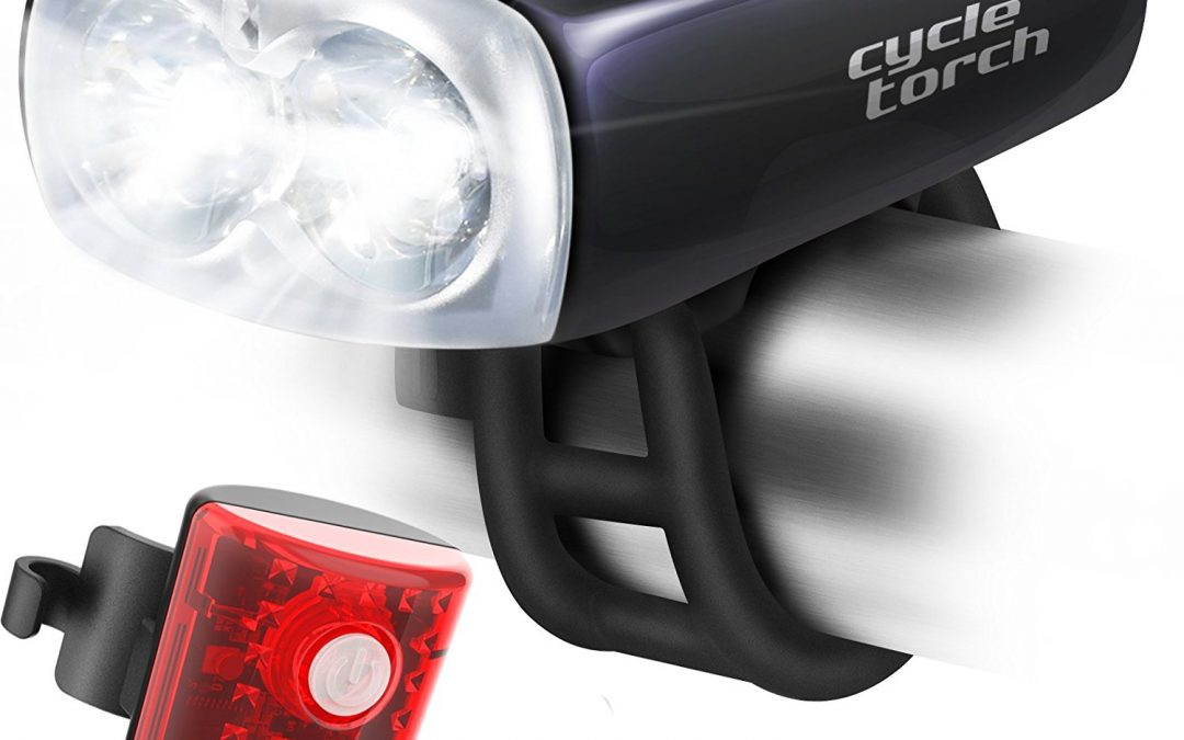 Cycle torch owl USB rechargeable bike light set Review