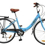 Ecosmo 26 New Folding Ladies Shopper Bike