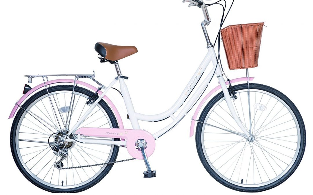 Ladies and girls spring Dutch Style bike bicycle 6 speeds  Review