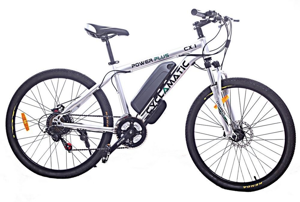 Cyclamatic Power Plus CX1 Electric Mountain Bike Review