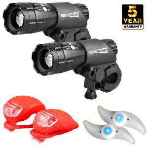 HeroBeam Double Bike Lights Set