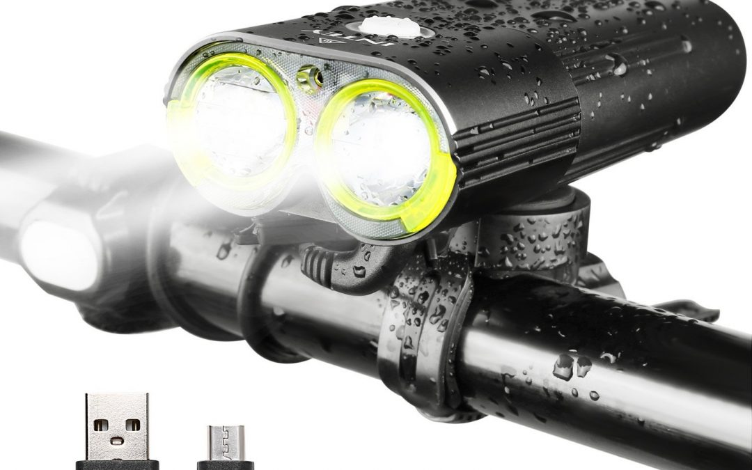 INTEY LED Rechargeable Bike Light Review