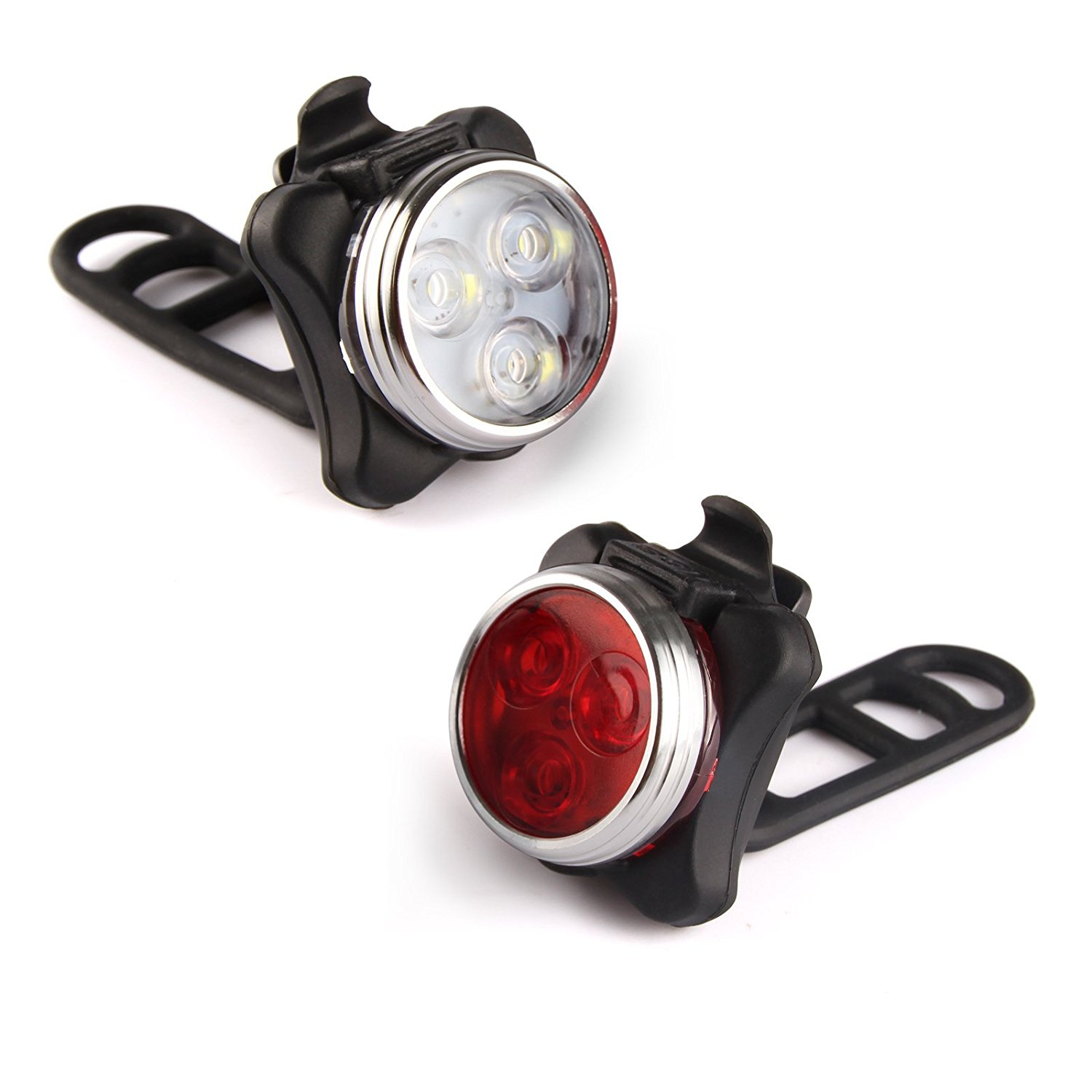 Ascher Rechargeable Led Bike Lights Set Review Road And