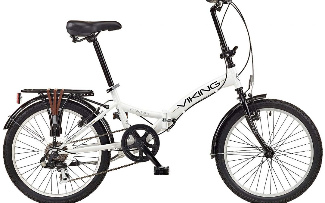 "Viking 2018 Metropolis 20"" Folding Bike Black Review"